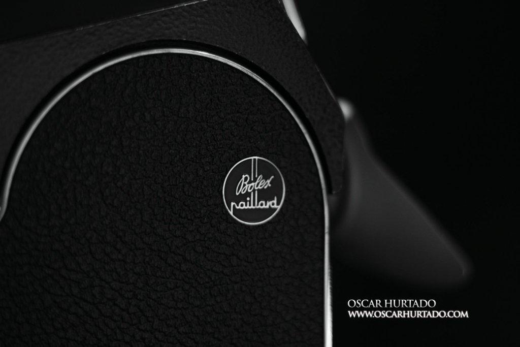 Side view with Bolex Paillard logo