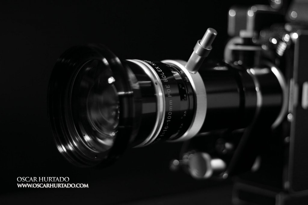 Cameras & Equipment - A study of the anatomy of my movie cameras and other equipment