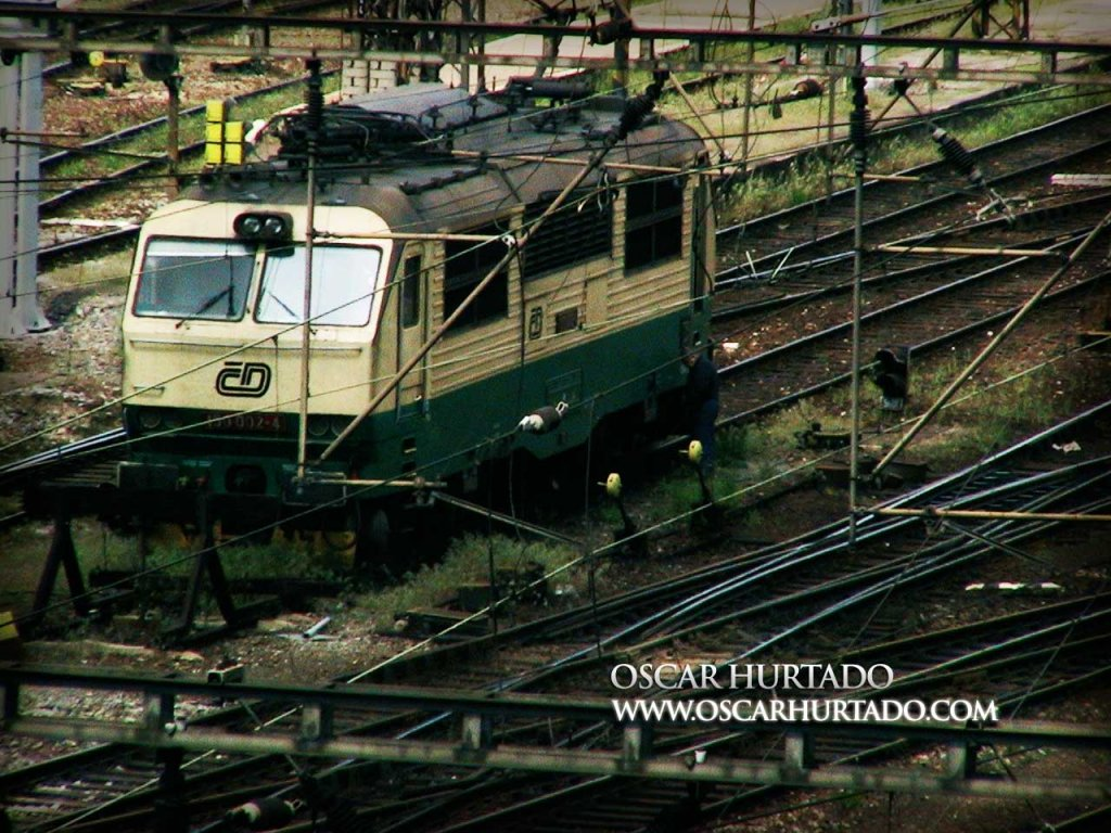 Lost in the Tracks - Color photograph (2008)