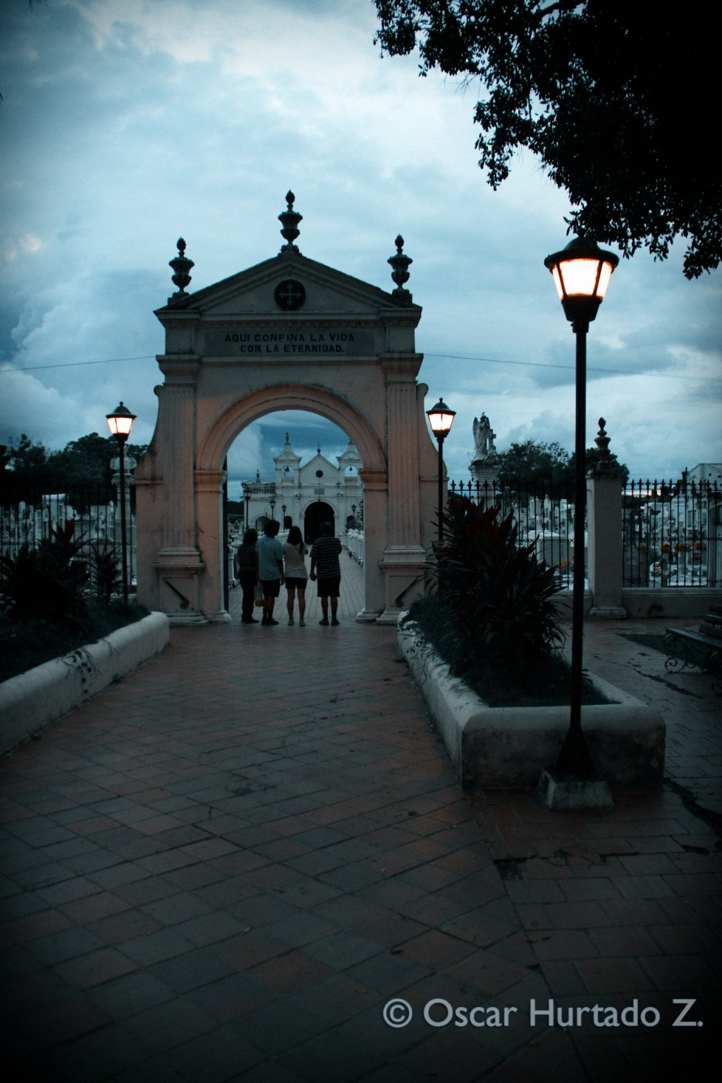 The picturesque and historical Cemetery of Mompox is considered to be the most beautiful in the country of Colombia